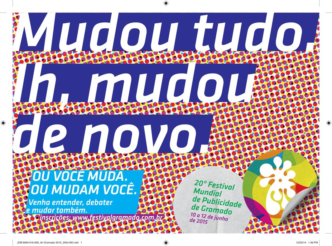 ALAP apresenta peça do 20º Festival Mundial de Publicidade de Gramado